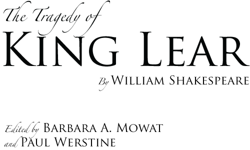 king lear shakespeare